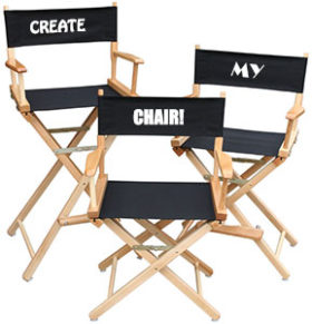 Embroidered Directors Chairs
