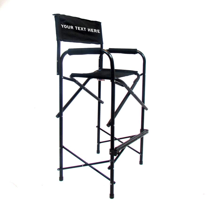 Imprinted All Aluminum 30 Inch Directors Chair Custom