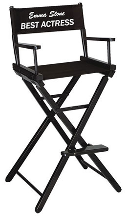 """Embroidered Bar Height Directors Chairs (30"""" Seat Height)"""