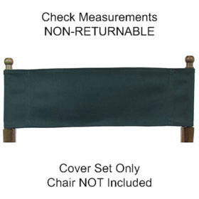 Admirable Embroidered Sunbrella Replacement Covers For Directors Chair Caraccident5 Cool Chair Designs And Ideas Caraccident5Info