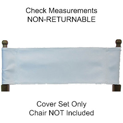 Phenomenal Imprinted Replacement Canvas For Directors Chair Flat Stick Custom Chair Designer Everywherechair Caraccident5 Cool Chair Designs And Ideas Caraccident5Info